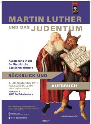 """Foto zur Meldung: Wanderausstellung """"Luther und das Judentum"""""""
