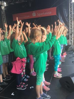 Foto zur Meldung: Dritter Auftritt der SingPause bei Kaarst Total