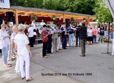 Foto zu Meldung: Auftritt beim Sportfest Kolkwitz am 12.Juni 2016