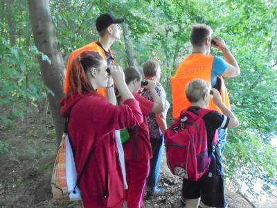 Foto zur Meldung: Ferienfahrt des Jugendclubs des Amtsbereiches Neustadt (Dosse) nach Karnzow in das Waldschulheim