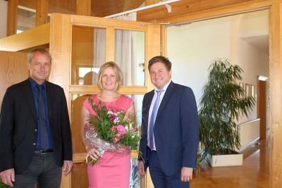 Foto zur Meldung: Katrin Hartl heißt die neue Schulleiterin