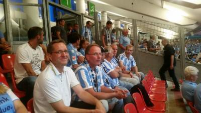 Foto zu Meldung: Auswärtsfahrt der Löwenfreunde nach Nürnberg