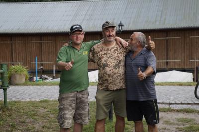 Foto zur Meldung: Letztes Hegefischen auf dem Klempowsee