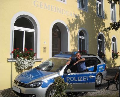 Foto zu Meldung: Neuer Bürgerpolizist in unserer Gemeinde