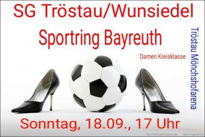 Foto zur Meldung: Damen SG Tröstau/Wunsiedel vs. Sportring Bayreuth