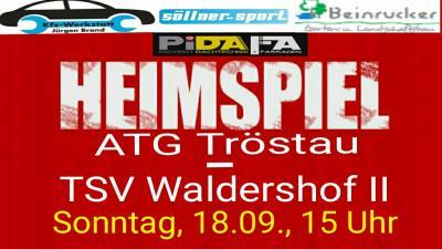 Foto zur Meldung: ATG I vs. TSV Waldershof II
