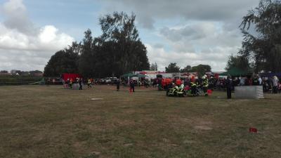 Foto zur Meldung: 1. Kreisfeuerwehr Pokalwettkampf