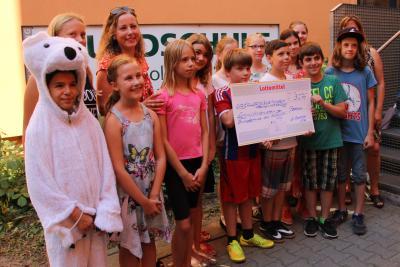 Foto zur Meldung: Lottomittel Förderscheck für Musikprojekt