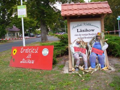 Foto zur Meldung: Tolles Erntefest in Läsikow 2016