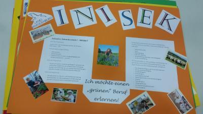 "Foto zur Meldung: Projekt ""Inisek"" der 9.Klassen"