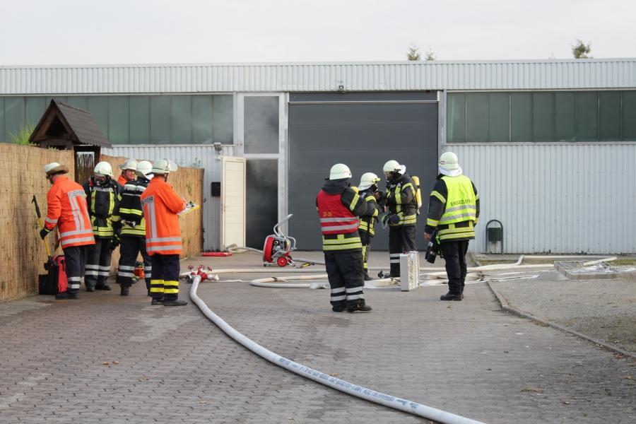 Bild der Meldung: Maschinenbrand in Eldagsen