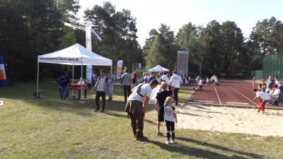 Foto zur Meldung: Willkommenssportfest in Borkheide