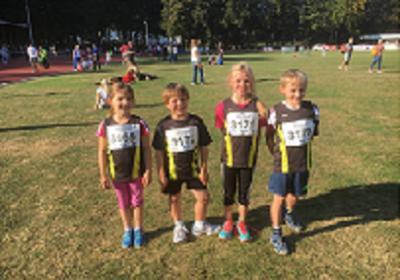 Foto zur Meldung: U10-Leichtathleten erfolgreich