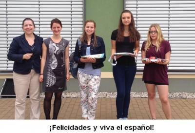 Foto zur Meldung: Spanisch-Olympiade 2016  - Clase de Español- Olimpia 2016
