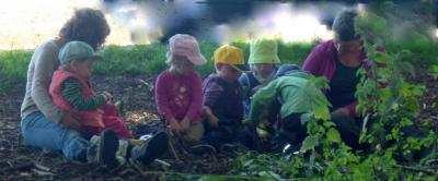 Die ersten Waldkinder sind da
