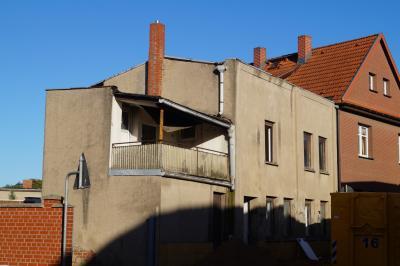 Foto zur Meldung: Abriss eines Hauses