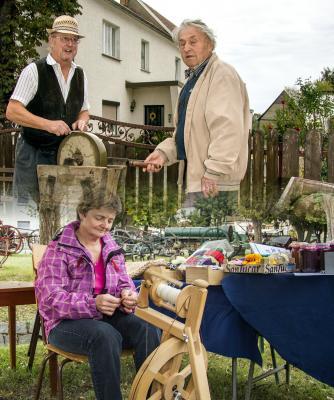 Foto zur Meldung: Eindrücke vom Hirschfelder Erntedankfest