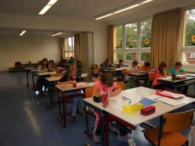 Foto zur Meldung: Mathematikwettstreit an der Schule