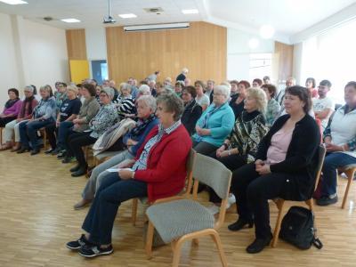 Foto zur Meldung: Frauenchor nimmt am Seminar des Sängerkreis im Bürgerhaus teil