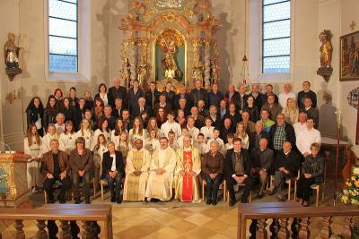 Foto zur Meldung: Ministranten-Treffen aller Generationen, eine außergewöhnliche Veranstaltung