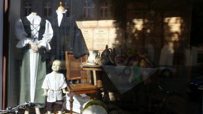 Foto zur Meldung: Schaufenstergestaltung zur Reformation