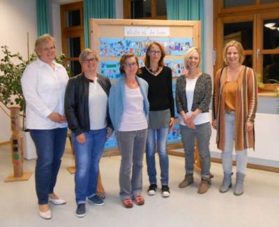 Foto zur Meldung: Stephanie Gäb wurde ein weiteres Jahr zur Elternbeiratsvorsitzenden gewählt