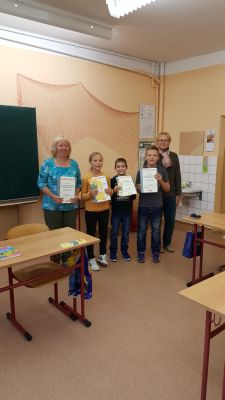 Foto zur Meldung: Lesewettbewerb und Mathematikolympiade