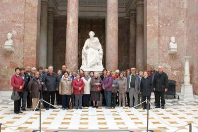 Foto zur Meldung: Die Senioren reisten in die Donauebene