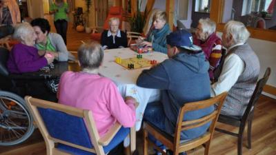 Foto zur Meldung: Groß Laasch - Ein Schultag in der Tagespflege