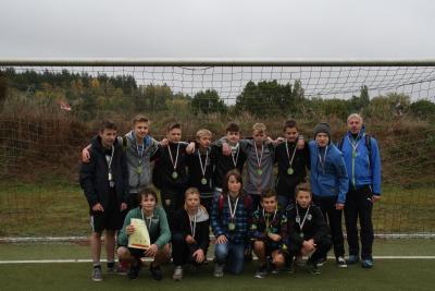 Foto zur Meldung: Kreisfinale Jugend trainiert Fußball WK III in Senftenberg