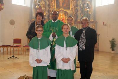 Foto zur Meldung: Die Pfarrei Moosbach feierte allgemeines Kirchweihfest