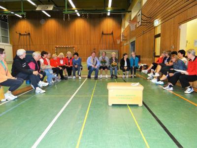 Foto zur Meldung: Neue Abteilungsleiterin für die Frauengymnastik