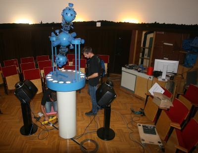 Foto zu Meldung: Planetariumsumbau