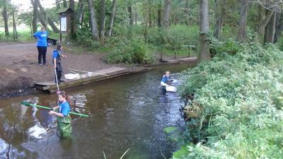 Vorschaubild zur Meldung: Das besondere Wassercamp im Wildpark Eekholt