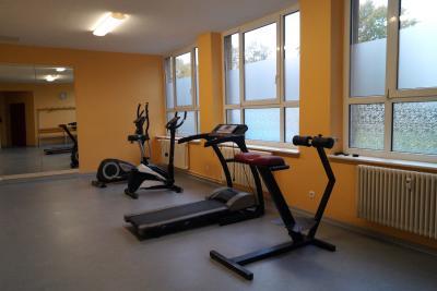 Foto zur Meldung: Fitness & Sauna Bereich im Freizeitzentrum