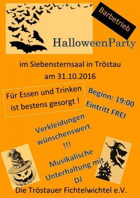 Foto zur Meldung: Halloweenparty im 7*