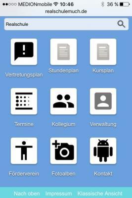 Vorschaubild zur Meldung: Das ist neu: Mobile Ansichten