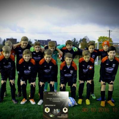 Foto zur Meldung: D-Junioren gewinnen das Pokalachtelfinale