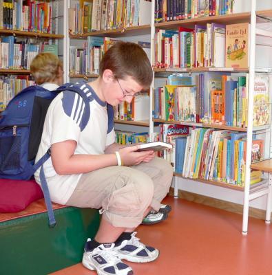 Foto zu Meldung: Herbstbasteln in der Gemeindebibliothek Schipkau