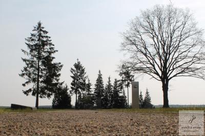 Foto zur Meldung: Kranzniederlegung an der Gedenkstätte
