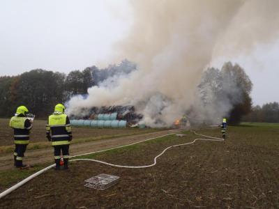 Foto zur Meldung: Brand einer Scheune bei Zillhofen