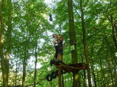 Foto zur Meldung: Kletterpark