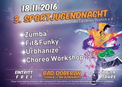 Foto zur Meldung: Sportjugendnacht in Bad Doberan am 18. November 2016
