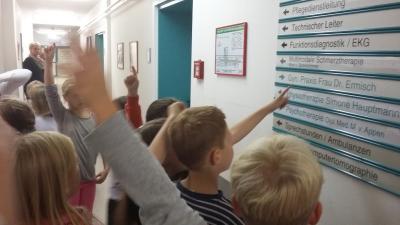 Foto zur Meldung: Besuch im Krankenhaus Crivitz