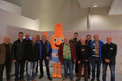 Teilnehmer im Energie- Bildungs- und Erlebnis-Zentrum, Aurich