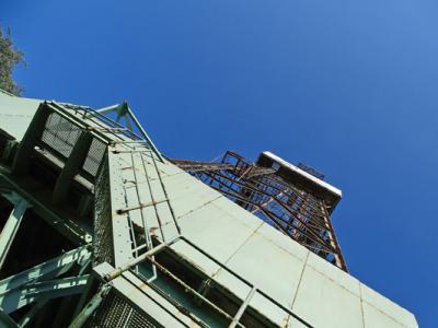 Foto zur Meldung: LEADER-Förderung für Bohrturm-Sanierung in Aussicht