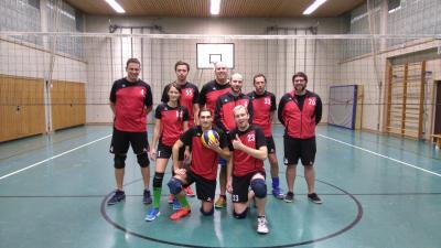 Foto zur Meldung: Die Abteilung Volleyball des Turnvereins Kirchenlamitz lebt wieder so richtig auf !