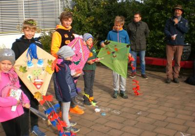 Foto zur Meldung: Herbstprojekt in den Klassen 1 bis 6