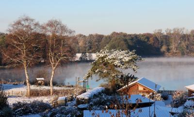 Foto zur Meldung: Väterchen Frost und die Sonne...