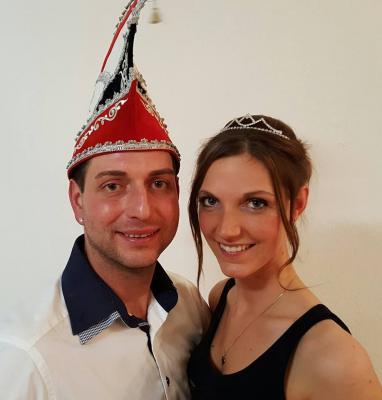 Foto zur Meldung: Enrico der I. und Franziska die I.